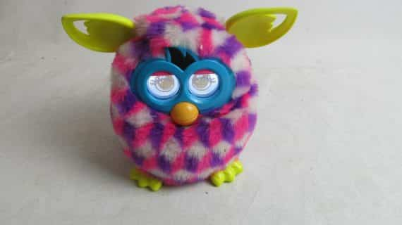 hasbro-furby-pink-purple-white-triangle-working-condition