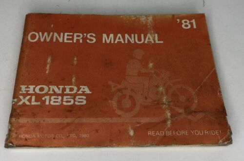 honda-xls-owners-manual-original-oem