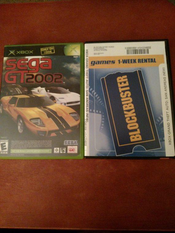 xbox-games-sega-gt-cib-grand-theft-auto-san-andreas-disc-only
