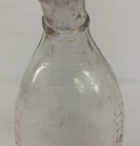 antique-tuxedo-graduated-nurser-bottle-baby-animal-feeder-flat-glass-edge