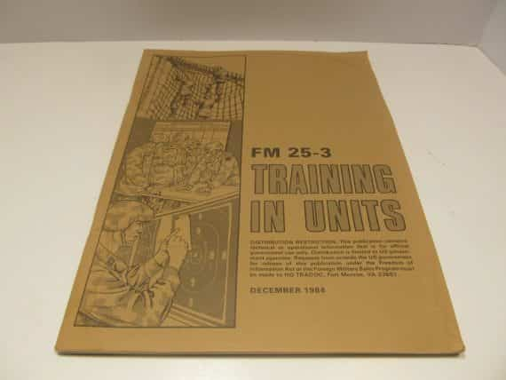army-field-manual-fm-training-in-units