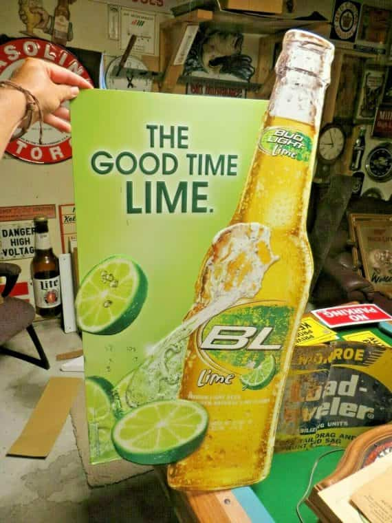 bl-bud-light-the-good-time-lime-embossed-large-bottle-with-lime-beer-tavern-sign