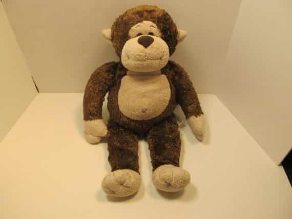 build-a-bear-brown-monkey-plush-stuffed-toy