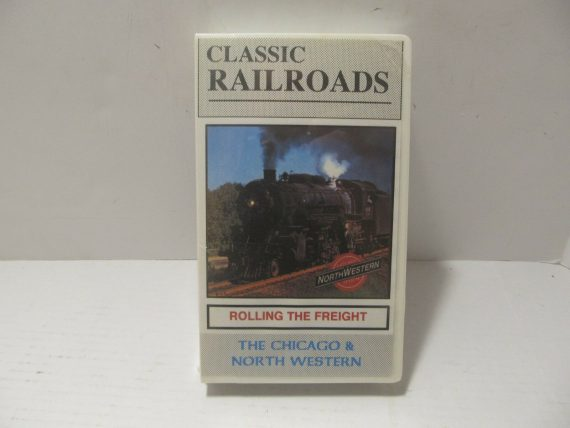 classic-railroads-northwestern-rolling-the-freight-chicago-vhs-new-sealed