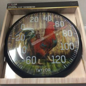 decorative-roster-thermometer-by-taylor-in-new-box-indoor-outdoor