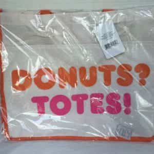 dunkin-donuts-totes-beach-bag-new-beige-pink-orange