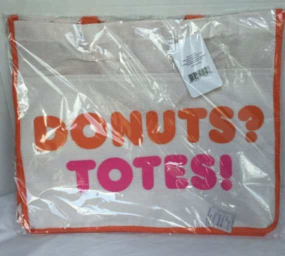 dunkin-donuts-totes-beach-bag-new-beige-pink-orange