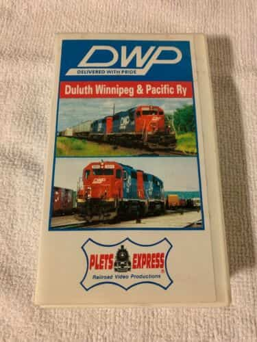 dwp-delivered-with-pride-vhs-railroad-trains-video-rare