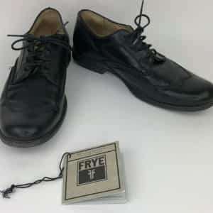 frye-mens-dress-shoes-black-leather-wingtip-oxfords-lace-up-casual-size