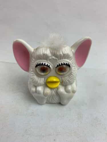 furby-plastic-windup-figurine-mcdonalds-tiger-electronics-white-works
