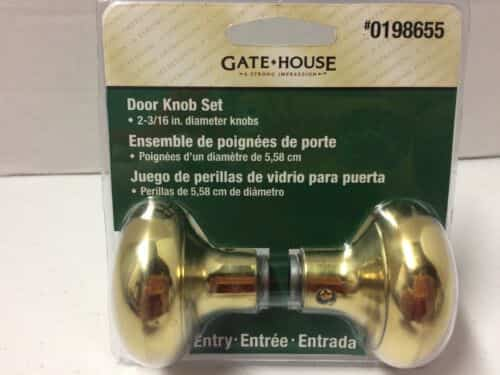 gate-house-round-mushroom-brass-door-knob-set-entry