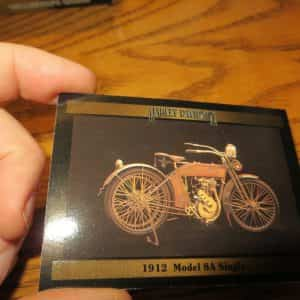 harley-davidson-model-a-singal-collectors-card-motor-cycle-frame-it-up