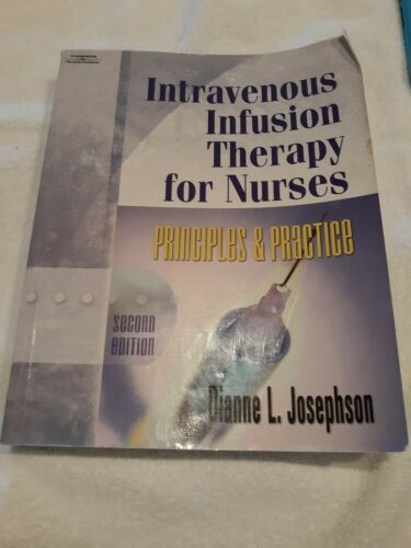 intravenous-infusion-therapy-for-nurses-by-josephson-dianne-l-used