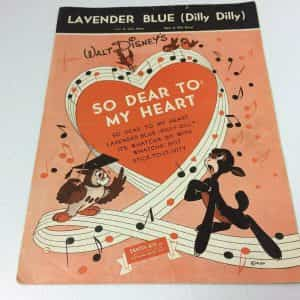 lavender-blue-antique-sheet-music-cover-art-walt-disney-santly-joy
