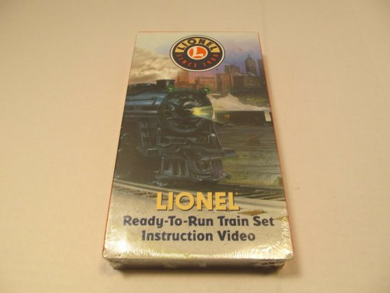 lionel-ready-to-run-train-set-instruction-video-vhs-railroad-new-sealed