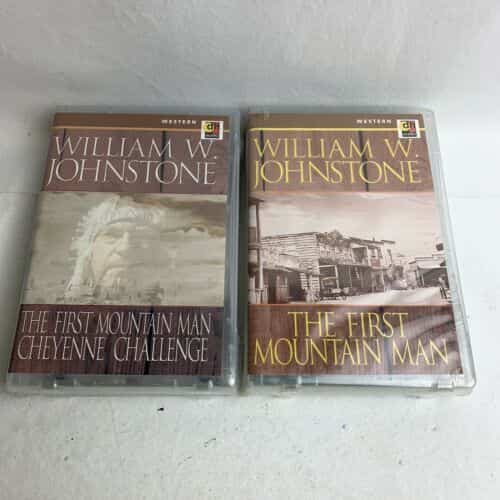 lot-of-audio-cassette-westerns-by-william-w-johnstone-new-sealed