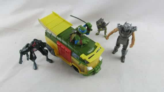 lot-tmnt-van-figs-teenage-mutant-ninja-turtles
