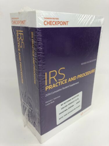 new-irs-practice-procedure-revised-nd-edition-student-cumulative-supplement