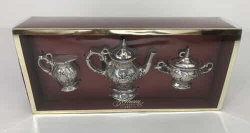 new-set-of-gorham-chantilly-silverplated-miniature-tea-set-ornaments