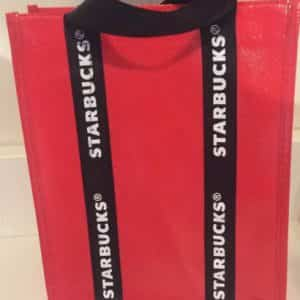 new-starbucks-mini-tote-gift-bag-red-black-white