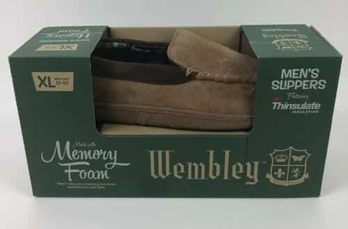 new-wembley-mens-slippers-memory-foam-thinsulate-installation-brown-xl