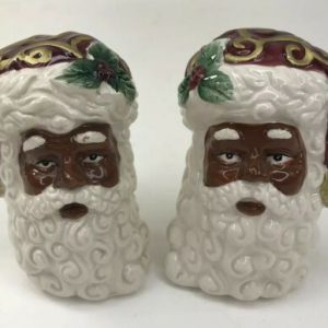 opulence-african-american-santa-salt-pepper-shaker-set-christmas-black-ethnic