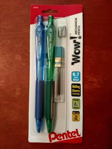 pentel-wow-mechanical-pencil-mm-assorted-barrels-pencils-lead-and