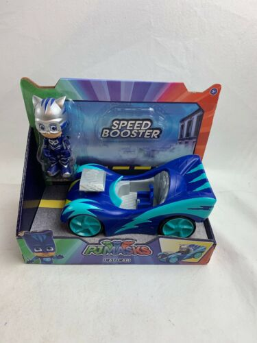 pj-masks-catboy-speed-boosters-vehicle-cat-car-blue-new-sealed