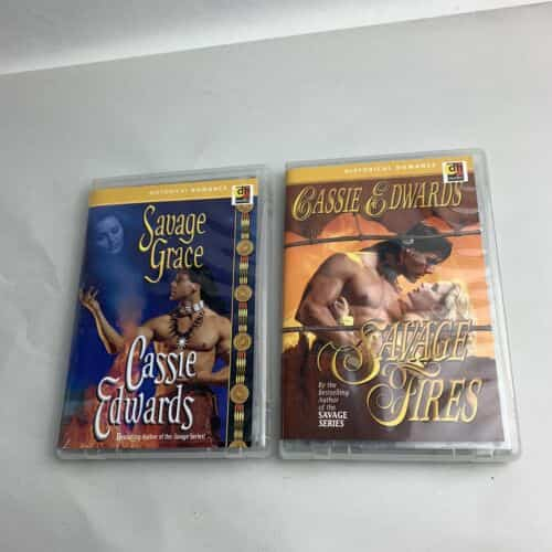 savage-fires-and-savage-grace-by-cassie-edwards-cassette-audiobooks