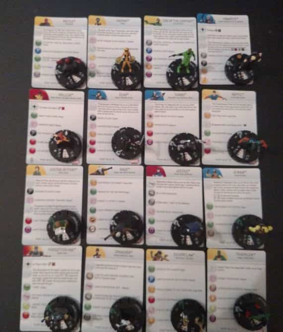 set-of-figures-w-cards-common-uncommon-marvel-avengers-assemble-heroclix-lot