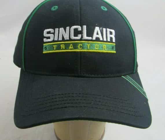 sinclair-tractor-washington-iowa-hat-cap-adjustable-new