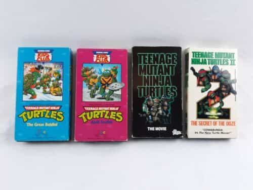 teenage-mutant-ninja-turtles-vhs-lot-of-tapes-parts-and-others