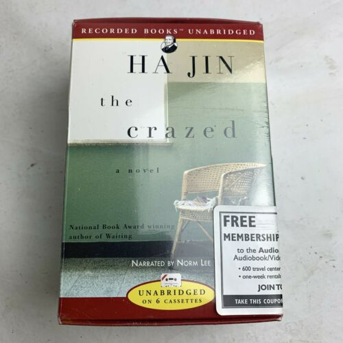 the-crazed-by-ha-jin-new-audiobook