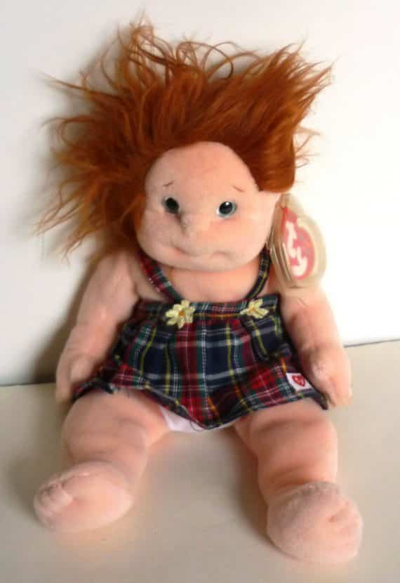 ty-beanie-kids-ginger-plush-girl-doll-wearing-a-plaid-romper-dress