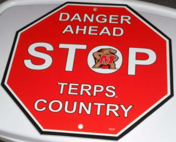 university-of-maryland-stop-sign
