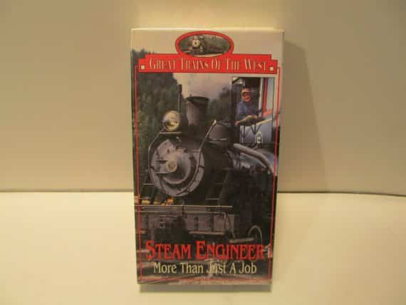 vhs-railroad-video-tape-great-trains-of-the-west-steam-engineer-new-sealed