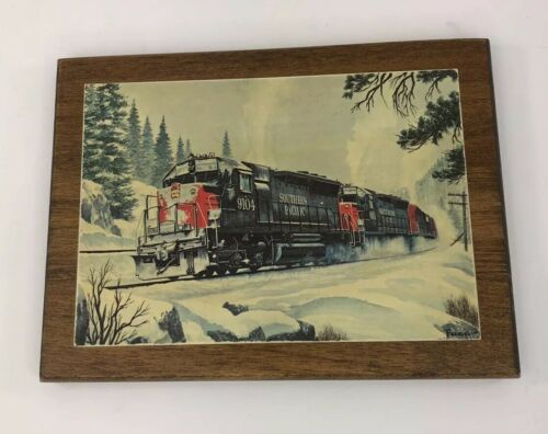 vintage-howard-fogg-south-pacific-train-engine-postcard-winter-snow-wood-backing