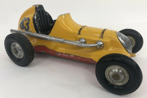 vintage-roy-cox-thimble-drome-champion-yellow-tether-toy-race-car