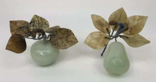 vintage-set-chinese-celadon-green-jade-carved-apple-and-pear-with-stone-leaves