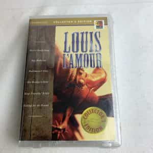vtg-louis-lamour-western-audio-book-collection-of-best-sellers-cassettes-new