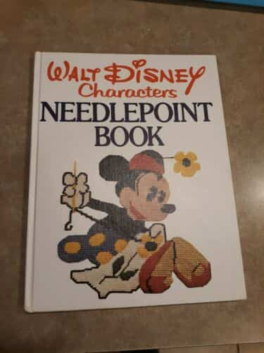 walt-disney-characters-needlepoint-book-st-ed-mickey-alice-snow-white