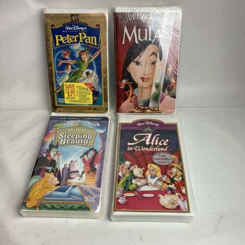 walt-disney-masterpiece-collection-vhs-new-sealed-lot-of-tapes-peter-pan-etc