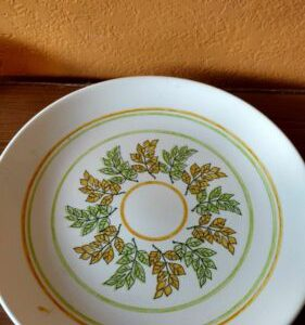 oval-serving-platter-plate-pastel-colors-with-green-and-yellow-leaves