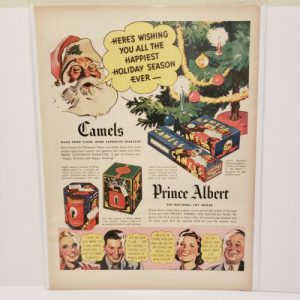 camel-cigarettes-prince-albert-christmas-print-ad-vintage-advertisement