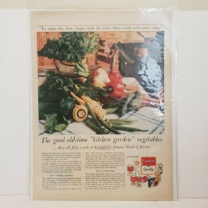 campbells-print-ad-vintage-advertisement-canned-goods
