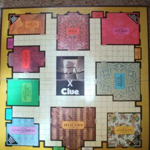 clue-board-game-parker-brothers-replacement-piece-game-board
