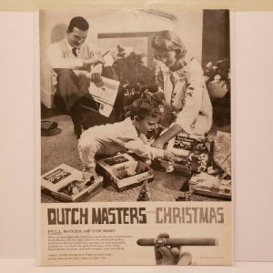 dutch-masters-cigars-christmas-print-ad-vintage-advertisement