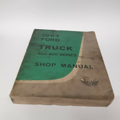 ford-truck-shop-repair-manual-series-original