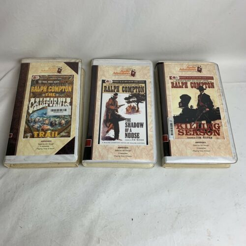 ralph-compton-jim-gough-audio-books-on-cassette