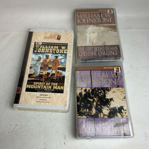 audio-cassette-books-william-w-johnstone-lot-of